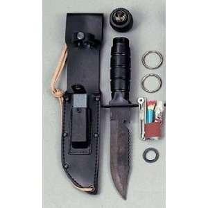 Survival Knife Fishing Hunting Super Sharp Complete