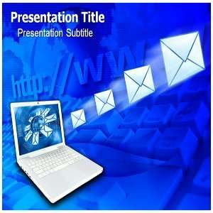 Powerpoint Templates   Email And Internet Powerpoint Background Slides