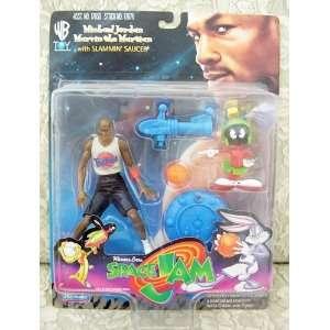 1997 Space Jam Action Figure   Michael Jordan & Marvin The