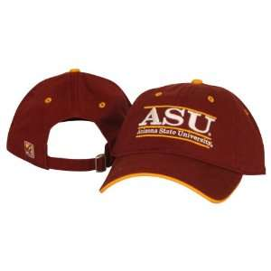 Arizona State Sun Devils Classic Slouch Style Hat   Maroon