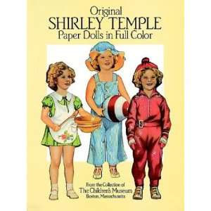com Original Shirley Temple Paper Dolls (Dover Celebrity Paper Dolls