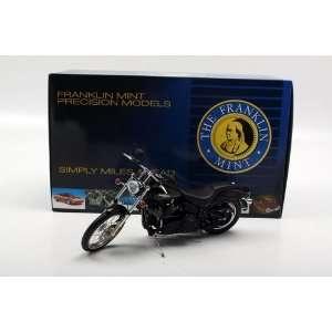 Franklin Mint 1/10 Harley Davidson 2006 Softail Night Train Motorcycle