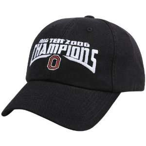 com Top of the World Ohio State Buckeyes Black Big Ten Champions Hat
