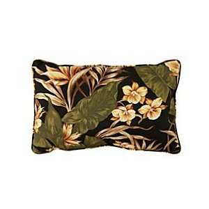Lumbar Pillow 13x20x6   Tropical Coast Print