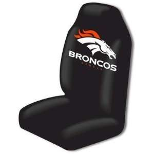 Denver Broncos Auto Seat Covers Universal Fit Set Of 2 Covers