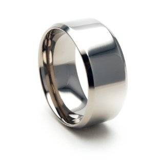 Mens Large Sterling Silver 10mm Wide Wedding Band Ring Size 6(Sizes 6