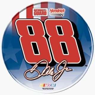 Dale Jr. National Guard 3 Round Domed Decal Everything Else