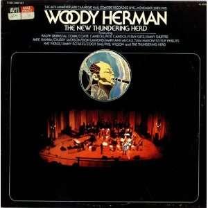 40th anniversary carnegie hall concert LP WOODY HERMAN Music