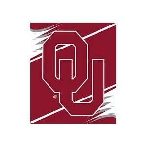 Oklahoma Sooners 50x60 Royal Plush Blanket Throw