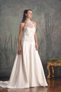 Classics #8016 White Size 14 Bridal Gown Wedding Dress Clothing