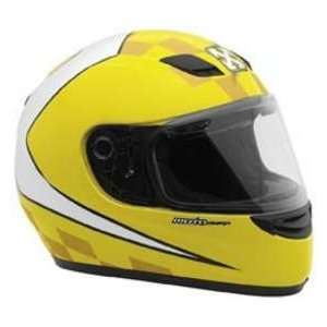 SPARX S07 TORINO YELLOW XXL MOTORCYCLE Full Face Helmet