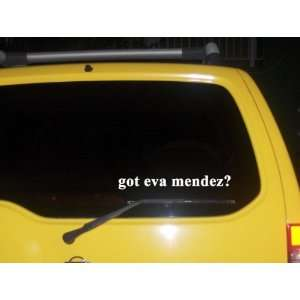 got eva mendez? Funny decal sticker Brand New Everything