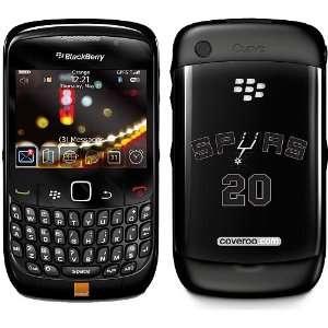 Coveroo San Antonio Spurs Manu Ginobili Blackberry Curve8520 Case