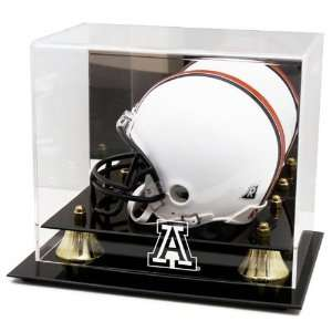 Arizona Wildcats Golden Classic Team Logo Mini Helmet Case