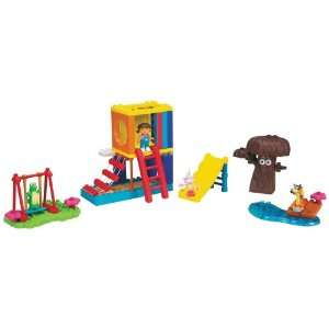 Mega bloks Doras Big Backyard Adventures Toys & Games