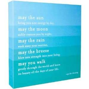 Quotable Color Canvas   Apache Blessing Arts, Crafts & Sewing