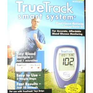 True Track Smart Blood Glucose Monitoring System Health