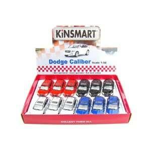 Set of 12   Dodge Caliber 1/34 Toys & Games