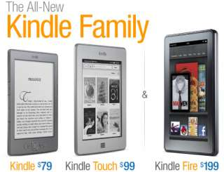 The All New Kindle Family, from $79