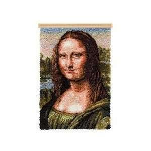 Mona Lisa Rug & Hanger Latch Hook Kit