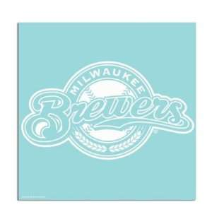 Milwaukee Brewers 18x18 Die Cut Decal