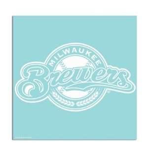 Milwaukee Brewers 18x18 Die Cut Decal