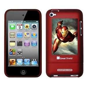 Iron Man In Sky on iPod Touch 4g Greatshield Case