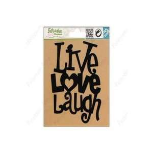Feltables Fashion Iron On Live/Love/Laugh (Pack of 3)