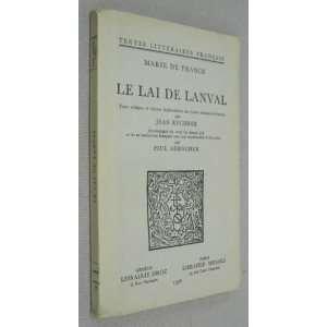 le lai de lanval (9782600023955) Collectif Books