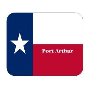 US State Flag   Port Arthur, Texas (TX) Mouse Pad