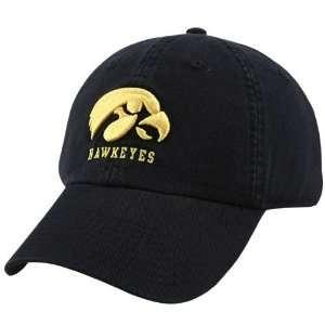Nike Iowa Hawkeyes Black 3D Throwback Hat  Sports