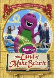 Barney e Land Of Make Believe VHS Video Kids Music |