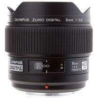 261010 Olympus Zuiko 8mm f/3.5 E ED Digital Fish Eye Lens for the E