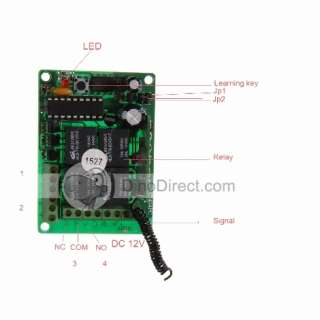 Code Relay Module with 5 Four Button Universal Remote Control AK B1