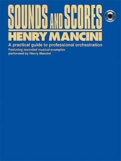 Henry Mancini: Sounds And Scores (Book/CD)   Orchestra Theory