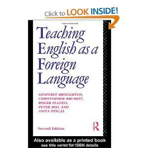 English as a Foreign Language (Routledge Education Books) [Paperback