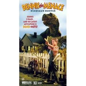 Dennis the Menace: Dinosaur Hunter [VHS]: John Alvin, Zachary Bostrom