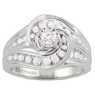 Keepsake Dream Come True 3/4 Carat Diamond Ring: Rings
