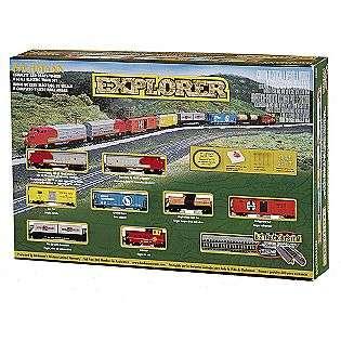 Ready to Run Explorer N Scale Electric Train Set  Bachmann Trains Toys