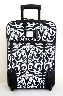 3Piece Luggage Set Travel Bag Rolling Case Wheel Floral