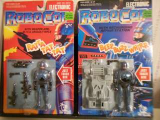 1993 ROBOCOP ELECTRONIC ACTION FIGURES WITH ACCESSORIES