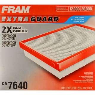 FRAM Extra Guard Air Filter, CA7640 Automotive