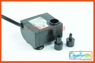 Submersible Aquarium Fountain Water Pump 3W 150L/H P800