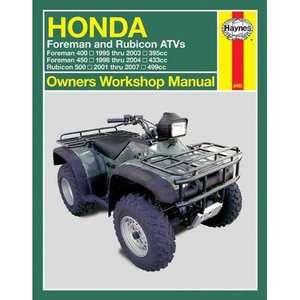 Honda Foreman & Rubicon Atvs 1995 Thru 2007, Ahlstrand
