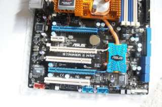 asus Striker II NSE Socket 775 motherboard #8747