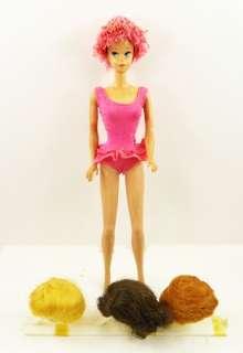 Vintage 1060 MISS BARBIE Mattel Doll 1964 SLEEP EYES Bendable Legs