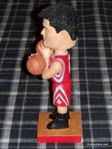 Ming Houston Rockets Bobblehead Basketball SGA W/ Box 2 Balls