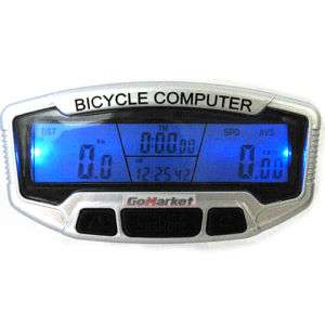 LCD Bicycle Bike Computer Odometer Speedometer 558