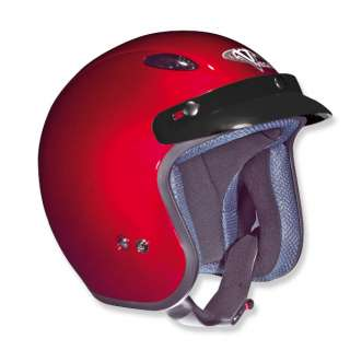 Vega X 280 Open Face Motorcycle Street Bike Helmet