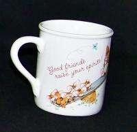 Hallmark Cards Good Friends Friendship Coffee Mug Cup